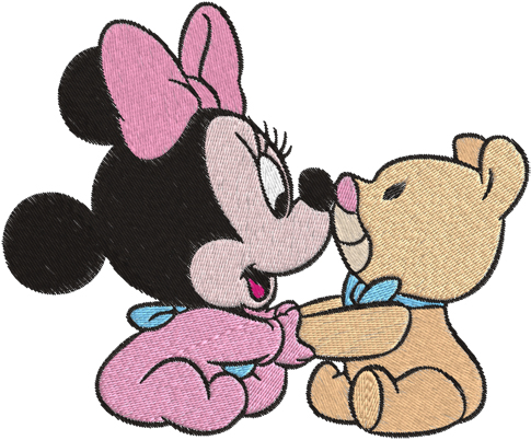 485x402 Baby Minnie Mouse Clip Art Free Clipart