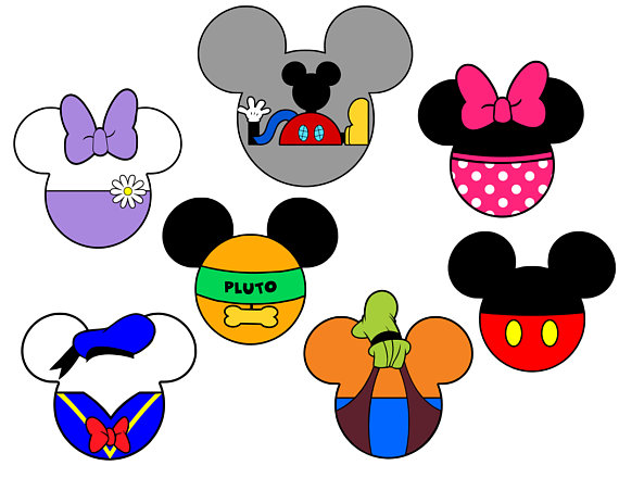 570x440 Mickey Mouse Clubhouse Mickey Heads