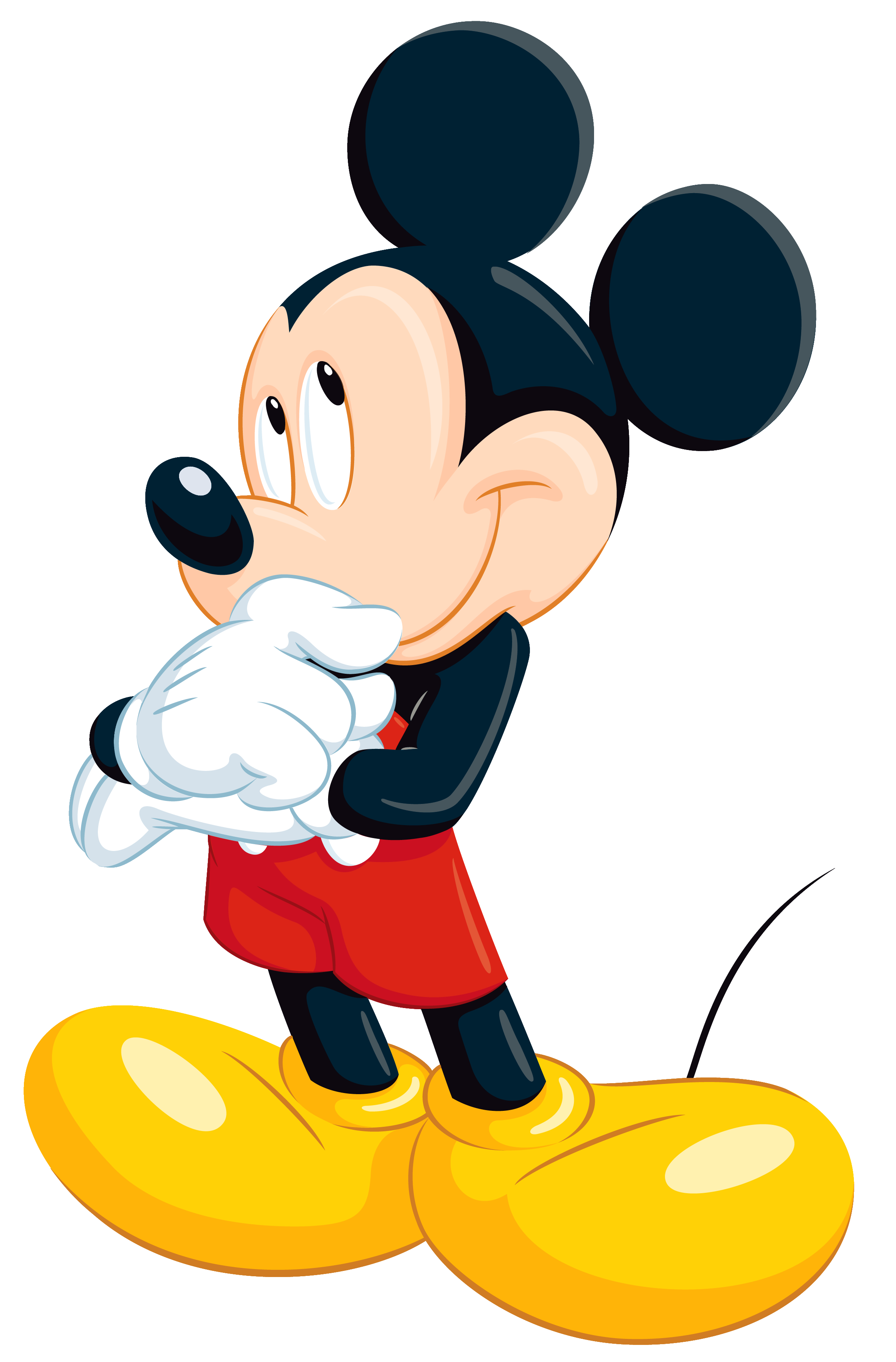2362x3590 Mickey Mouse Clipart Transparent Background