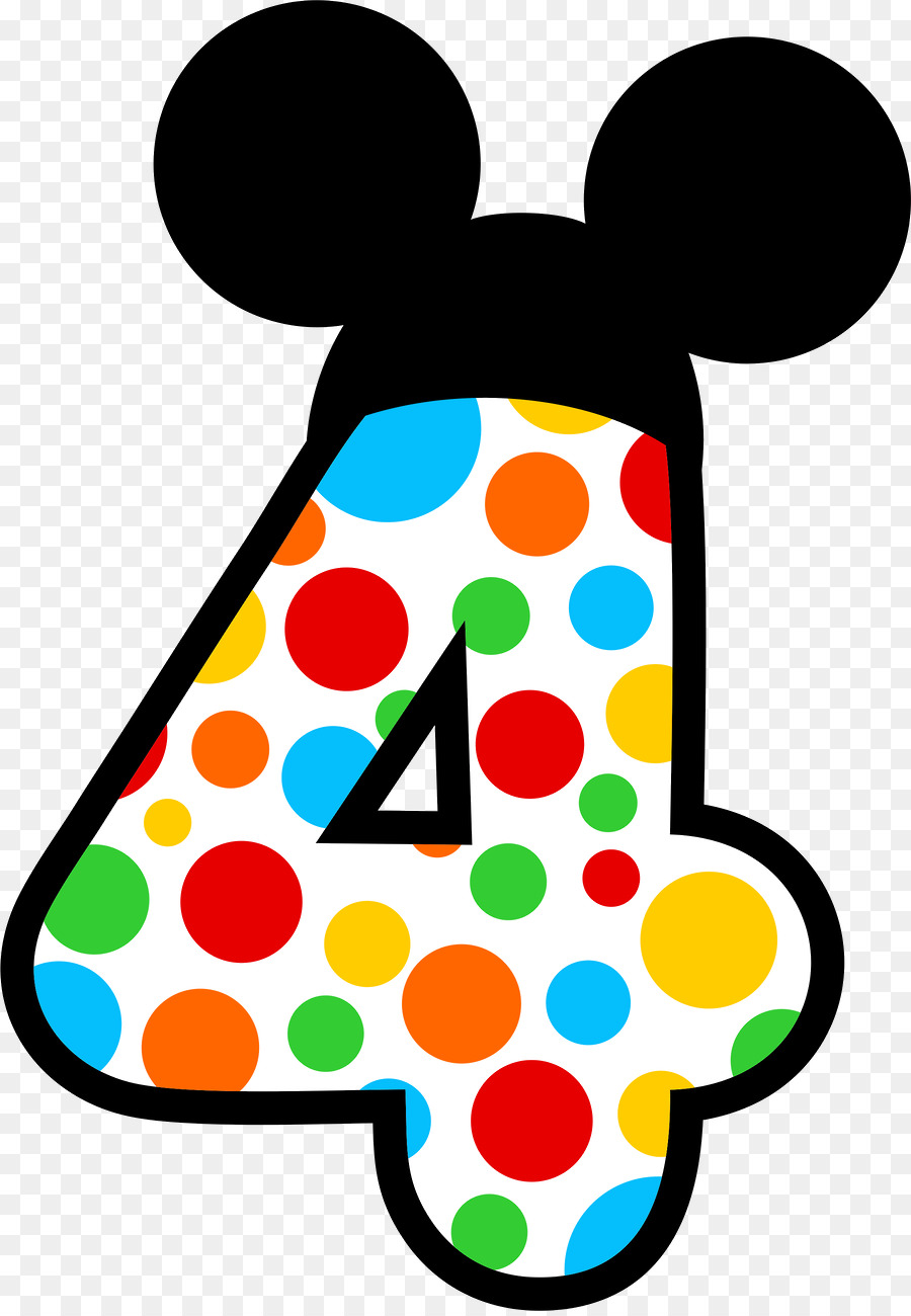 900x1300 Minnie Mouse Mickey Mouse Number Clip Art