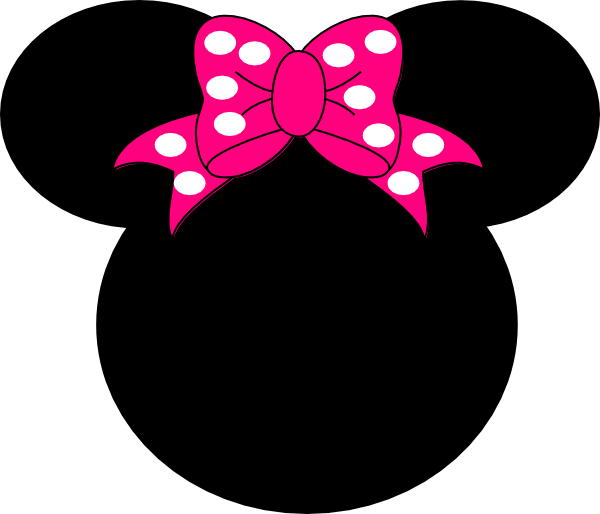 600x514 Minnie Mouse Number 1 Clipart