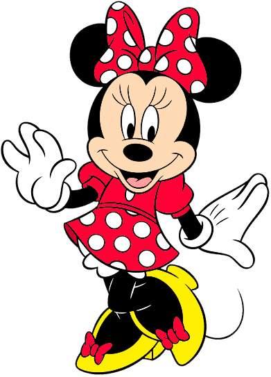 391x543 Minnie Mouse Clip Art
