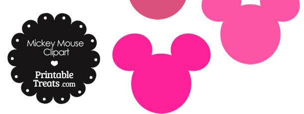 610x229 Mickey Head Clipart