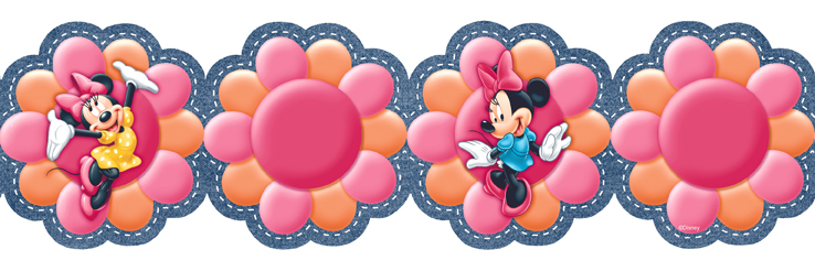 738x246 Minnie Mouse Clipart Border