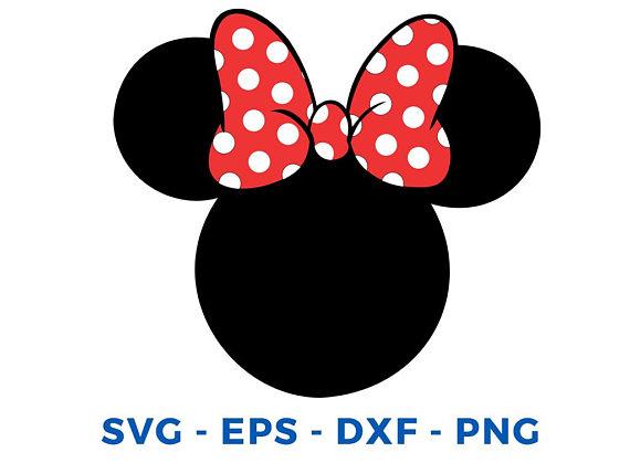 570x428 Minnie Mouse Head Clip Art