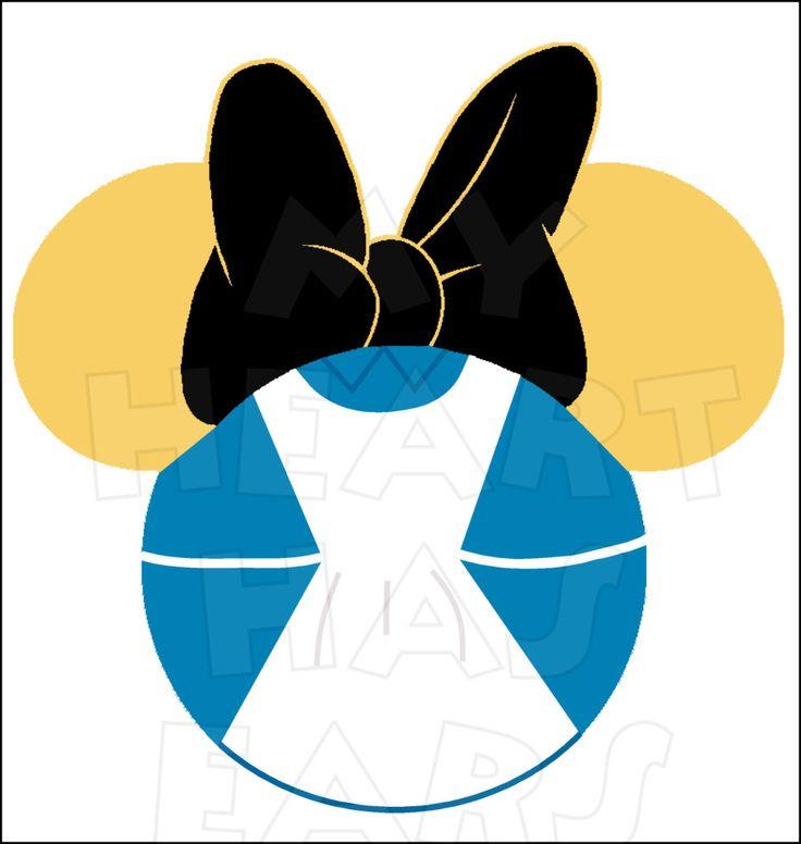 736x776 Alice In Wonderland Dress Clipart