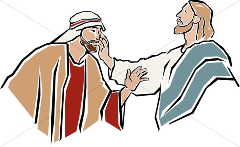 776x478 Jesus Heals The Deaf Man New Testament Clipart