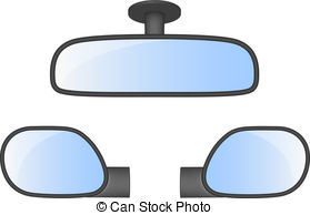 279x194 Rear View Mirrors Clipart Vector Graphics. 256 Rear View Mirrors