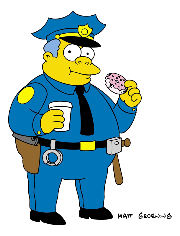 610x800 Clancy Wiggum Simpsons Wiki Fandom Powered By Wikia