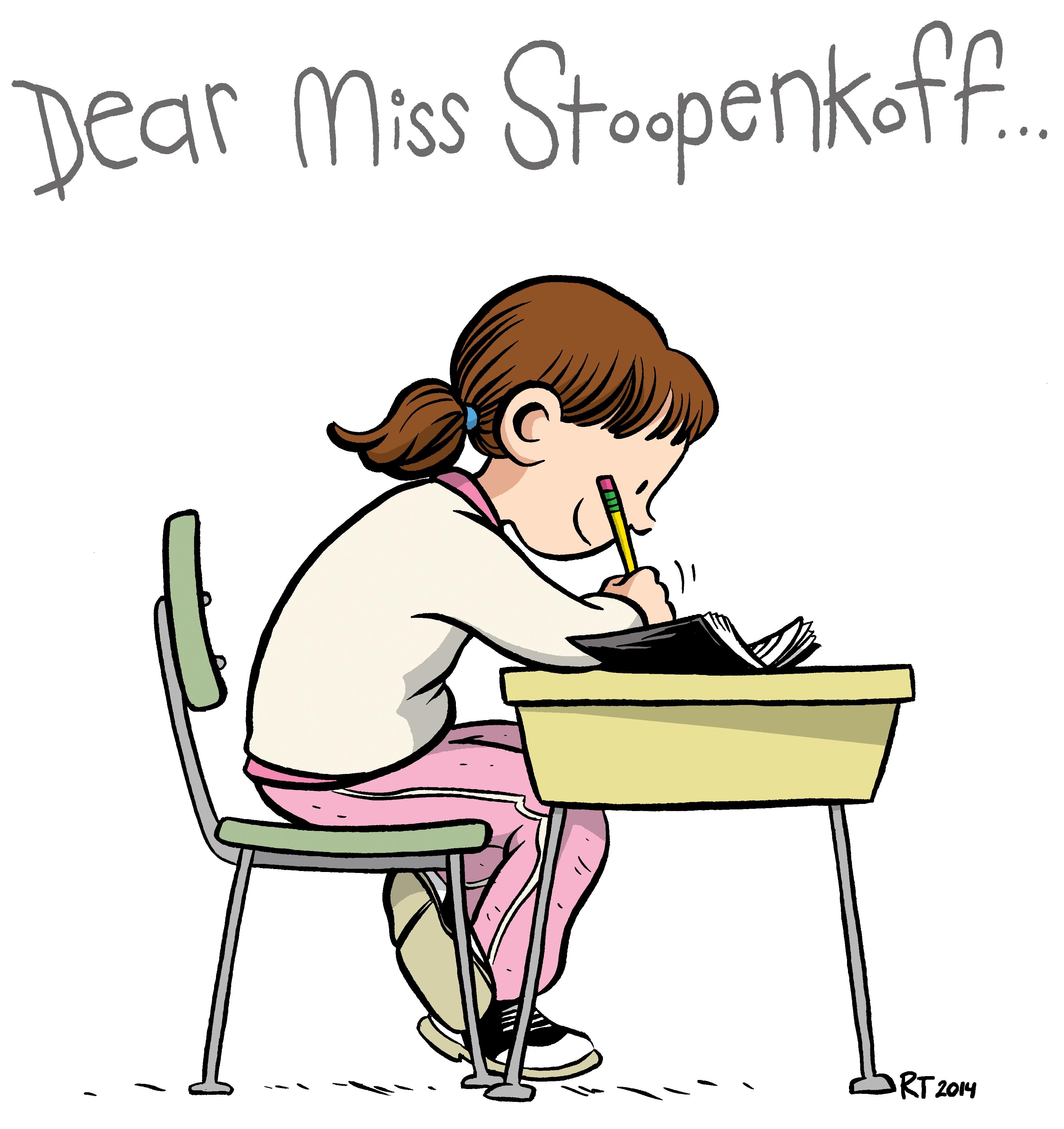3300x3501 Miss Stoopenkoff, A First Class Teacher By Raina Telgemeier