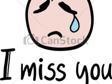 220x165 Miss You Clip Art Cat I Miss You Illustration In Vector Vector