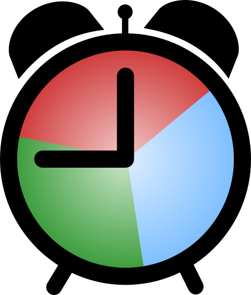 510x598 Plush Design Alarm Clock Clipart Royalty Free Clip Art Vector
