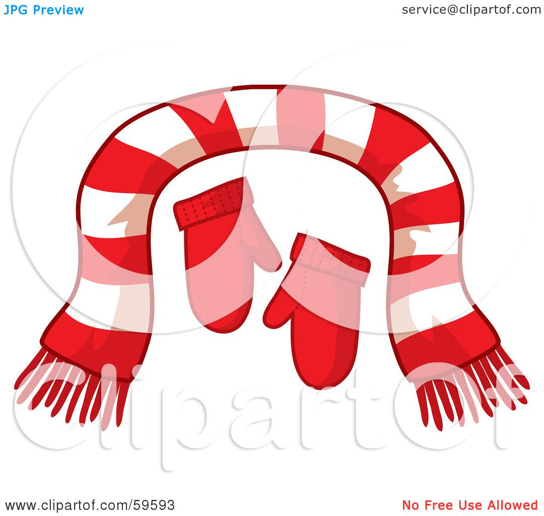1080x1024 Royalty Free (Rf) Clipart Illustration Of A Pair Of Red Mittens