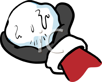 350x283 Royalty Free Mittens Clipart