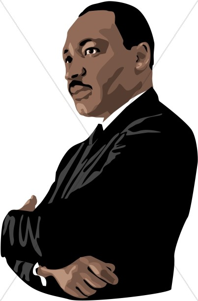 403x612 Martin Luther King Jr. Graphic Martin Luther King Clipart