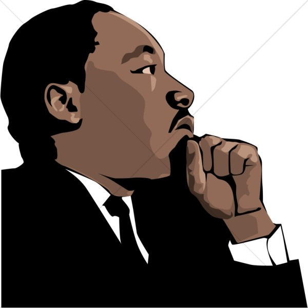 600x600 Martin Luther King Clipart, Martin Luther King Images