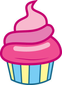 220x300 Mlp Cupcake Vector Free Images
