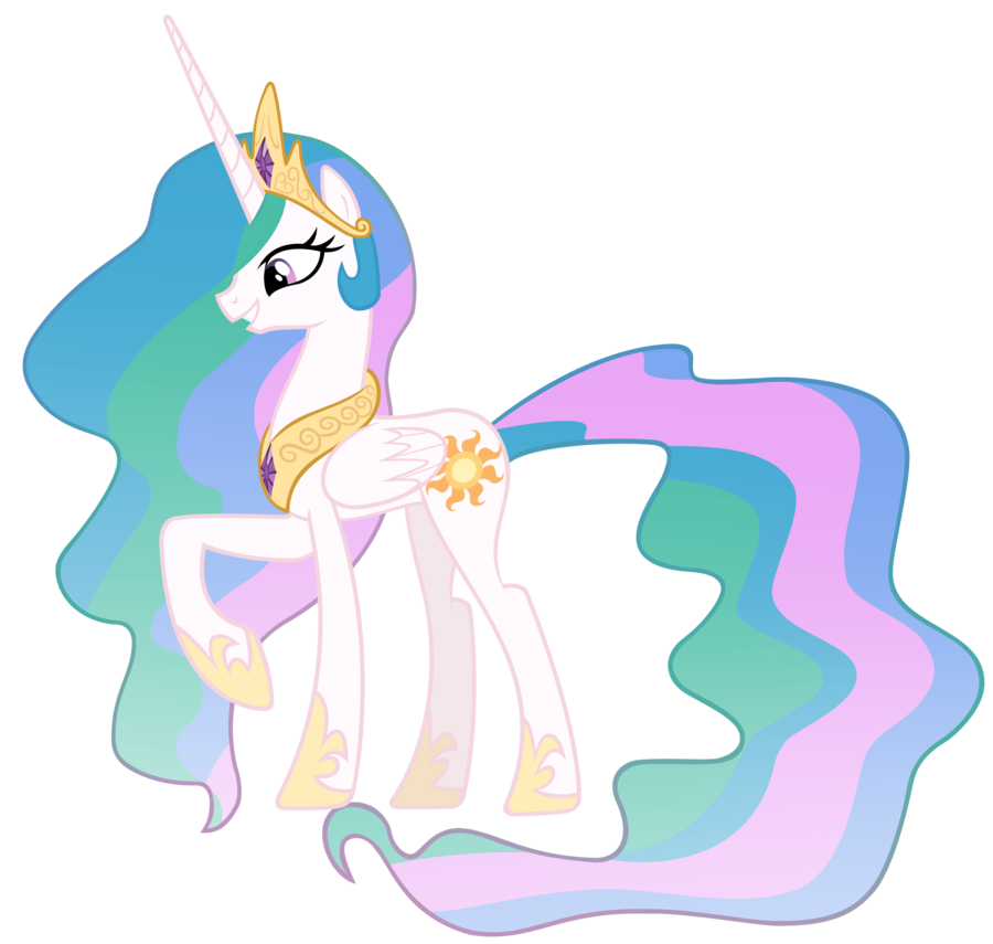 900x855 Princess Celestia Vector By Misterlolrus