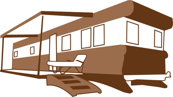 600x338 Mobile Home Clip Art