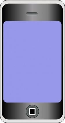 224x425 Motudo Mobile Phone With Big Screen Clip Art Arts De Clip, Lliure