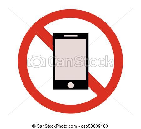 450x413 No Mobile Phone Clip Art Vector