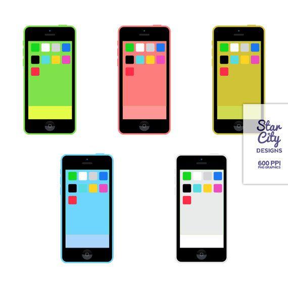 570x570 Smart Phone Clip Art For Scrapbooking Clip Art By Starcitydesigns