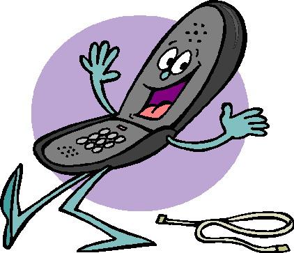 422x363 Telephone Clip Art Communication