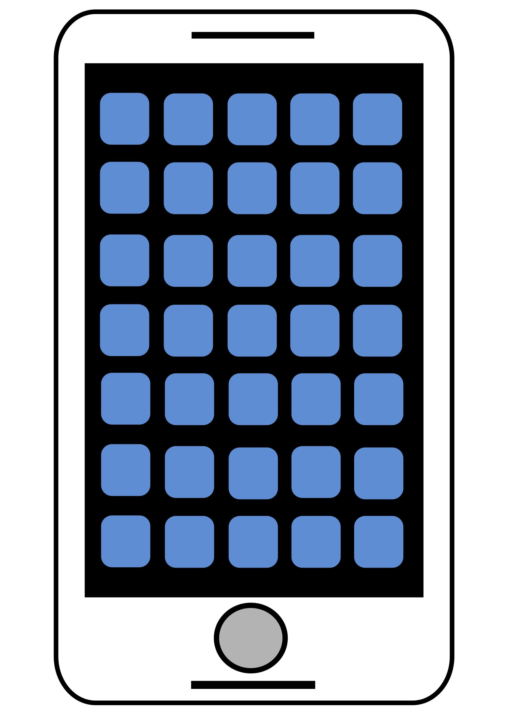 1697x2400 Sending I Phone To Open Icons Png