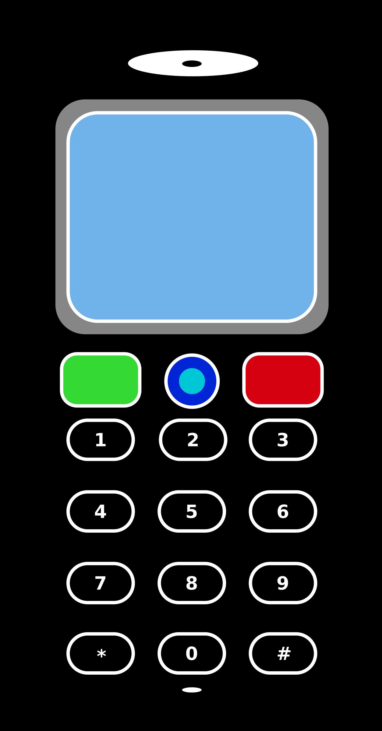 1254x2400 Cellphone Clipart
