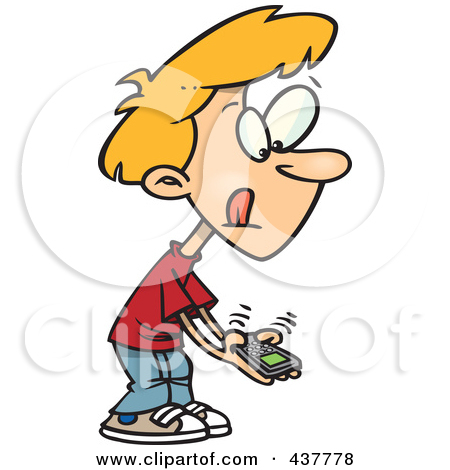 450x470 Clip Art Person On Cell Phone Clipart