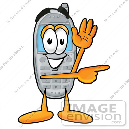 450x450 Phone Clipart Graphic