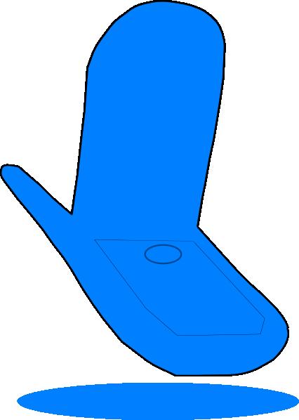 426x598 Blue Cell Phone Clip Art