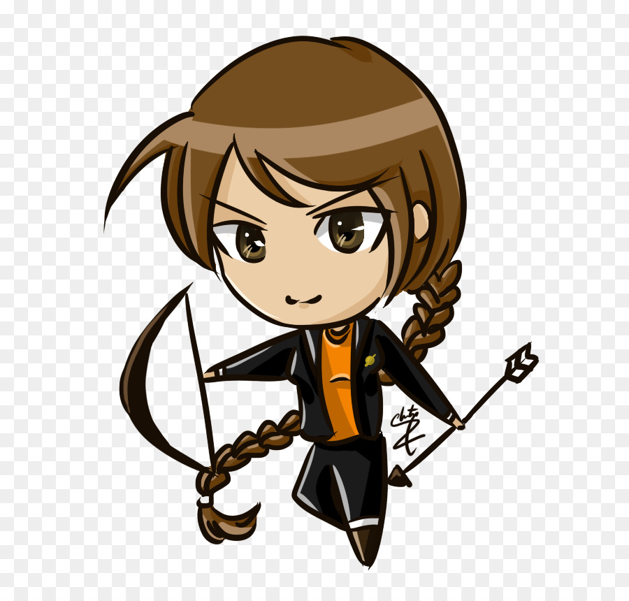 900x860 Katniss Everdeen Peeta Mellark Mockingjay Drawing Cartoon