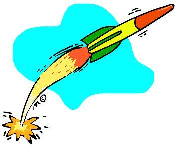 360x292 Model Rocket Clip Art