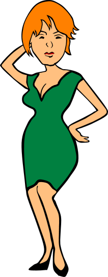 212x540 At Work People Clip Art Download