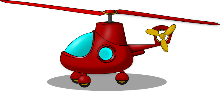744x307 Model Helicopter Clipart