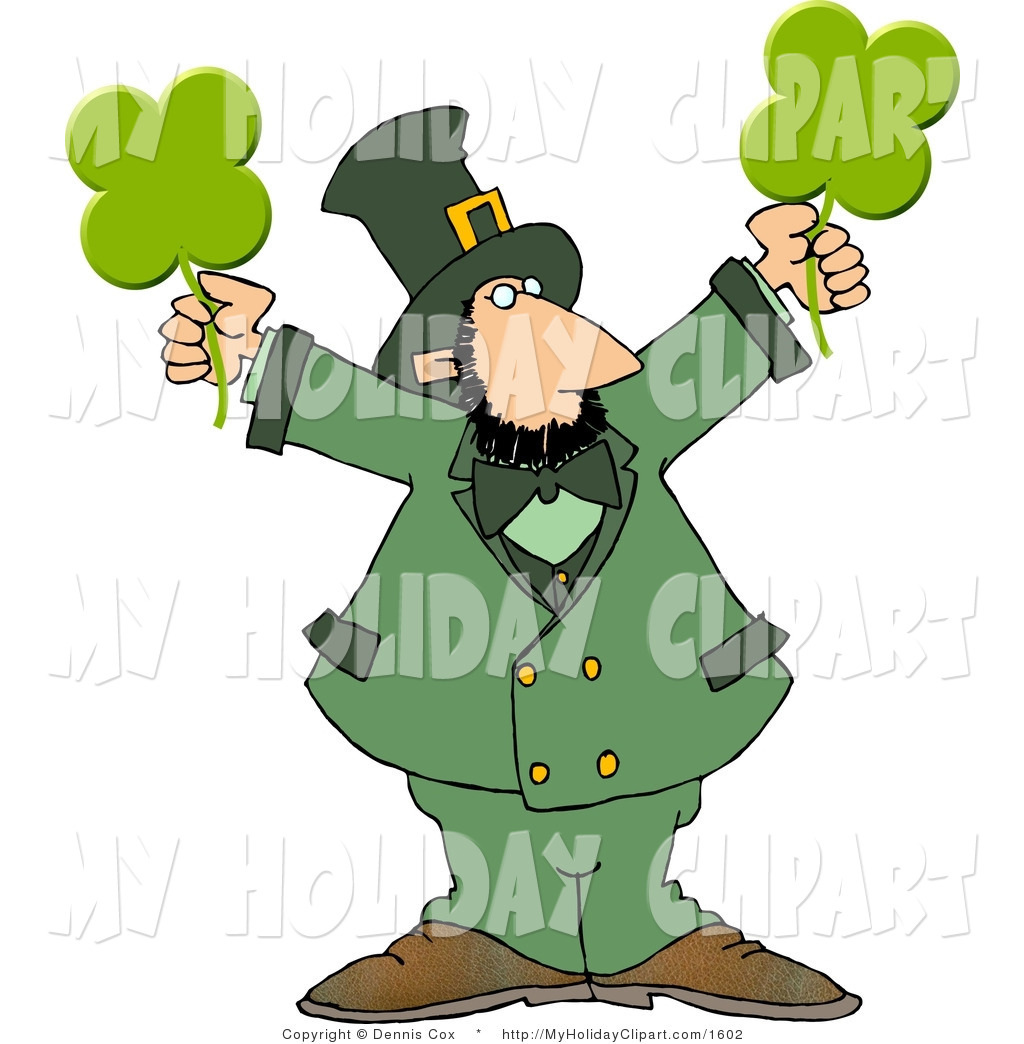 1024x1044 Clip Art Of A Modern Stereotypical Depiction Of A Leprechaun