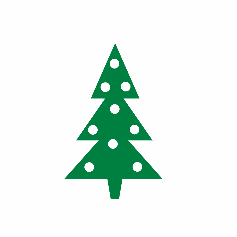 910x910 Christmas Tree Clip Art Tree Modern Christmas Clipart Kid