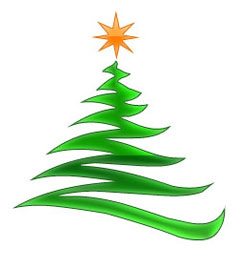 240x268 Tree Clipart Modern Clipground Contemporary Christmas Clip Art