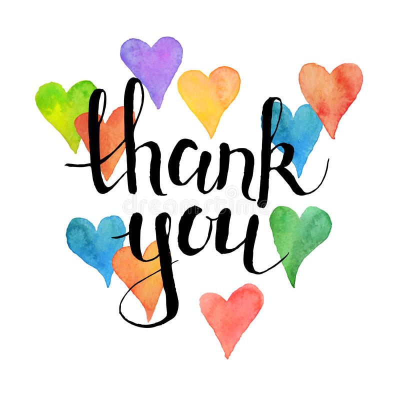 800x800 Thank You Heart Clip Art Thank You Card Lettering Watercolor
