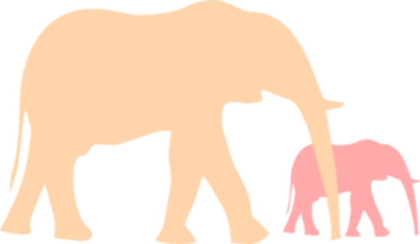 600x348 Mom And Baby Elephant Png Transparent Mom And Baby Elephant.png