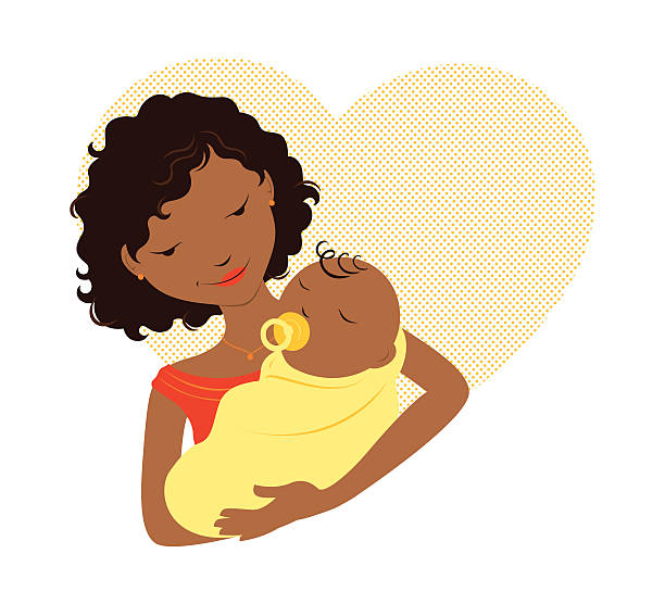 612x556 Collection Of Mom And Newborn Clipart High Quality, Free