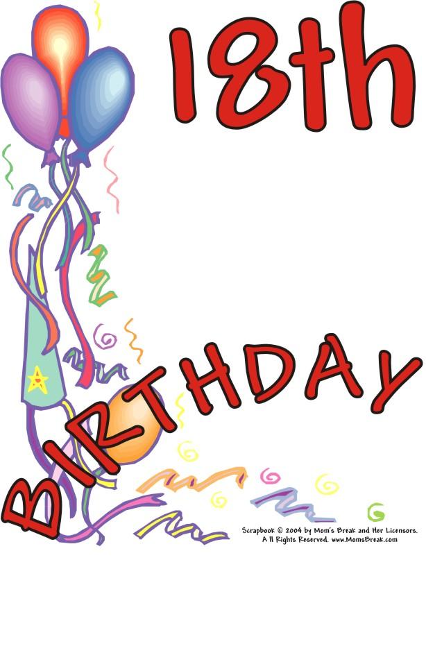 614x941 Happy 18 Birthday Pictures