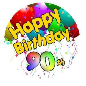 300x300 90th Birthday Mom Clipart