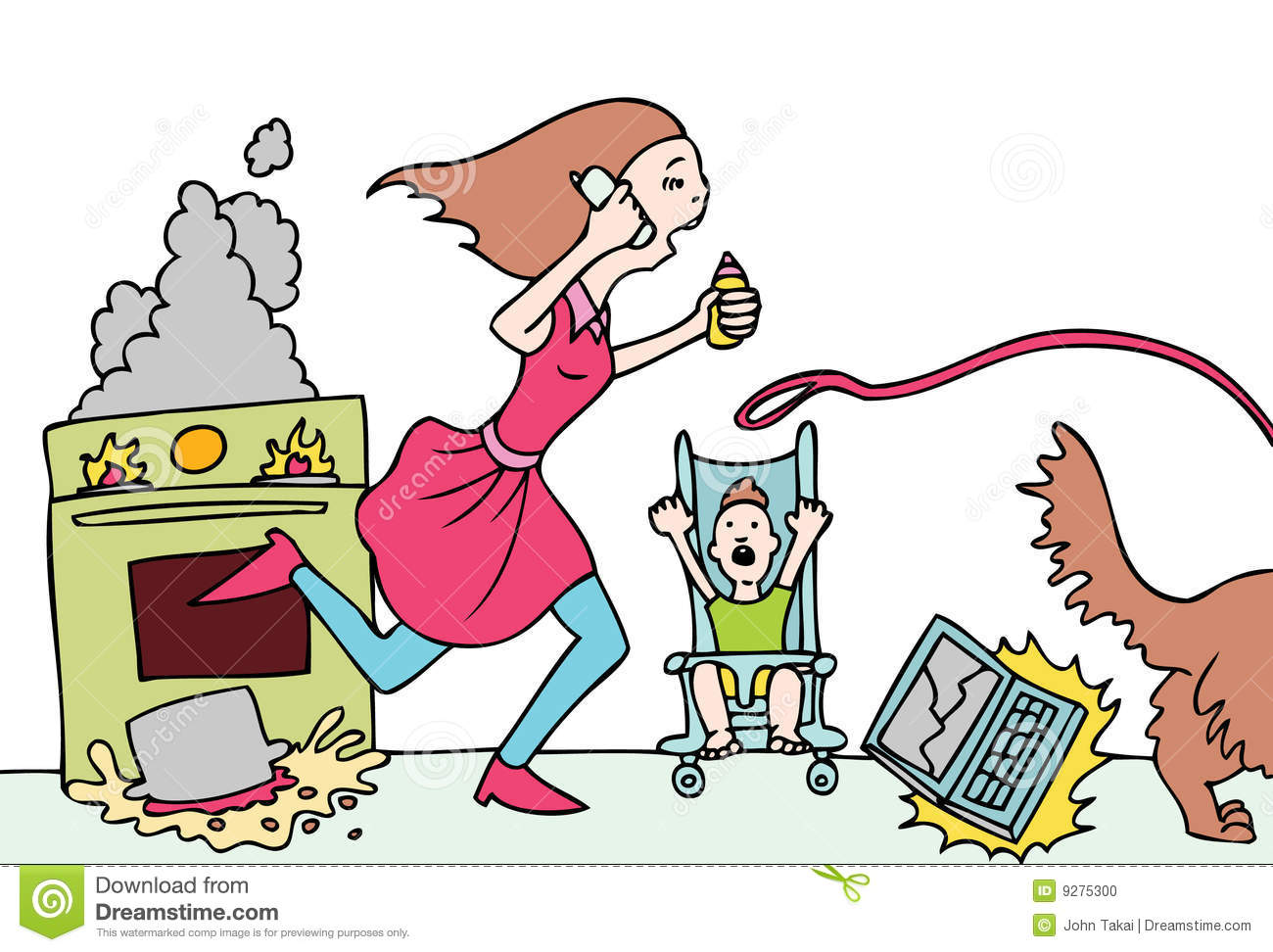 1300x972 Displaying 20 Images For Tired Mom Clipart L8ju2l Clipart Nutkin
