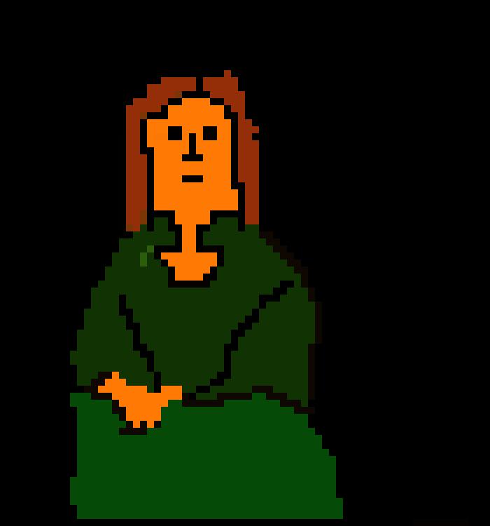 700x750 Mona Lisa Pixel Art Maker