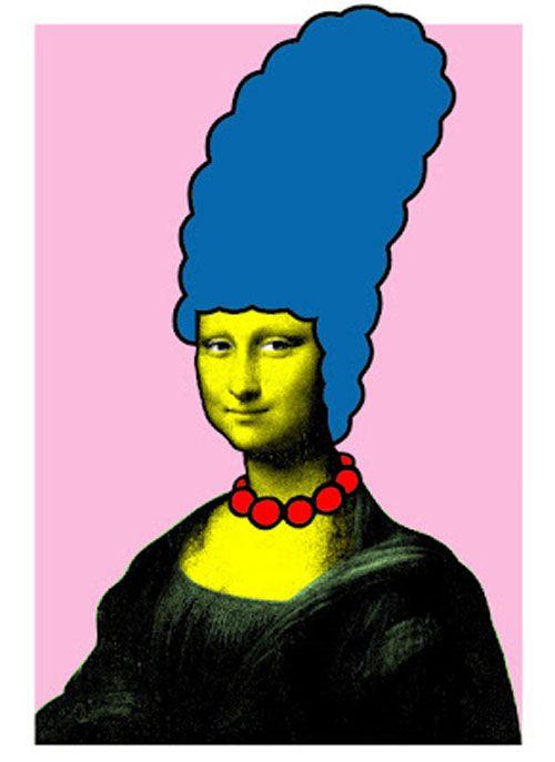 500x687 Mona Simpson Xl Flatwork Mona Lisa, Nick Walker