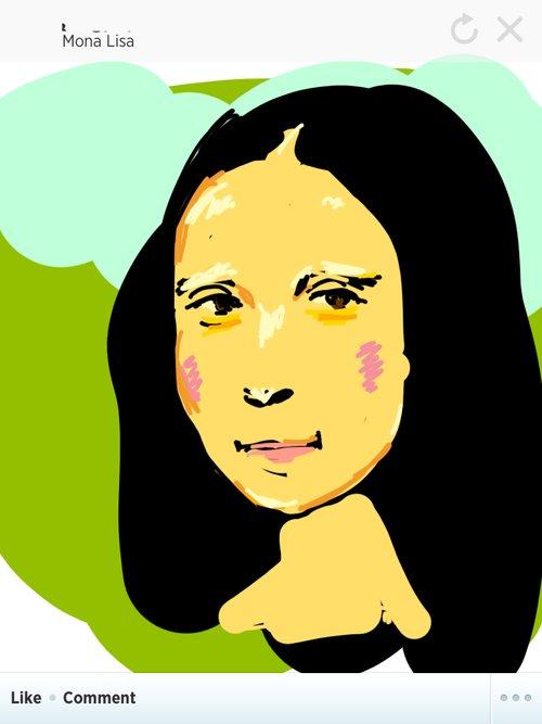 500x667 Monalisa Drawings