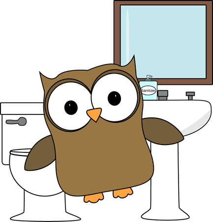 433x450 Image Of Bathroom Clipart