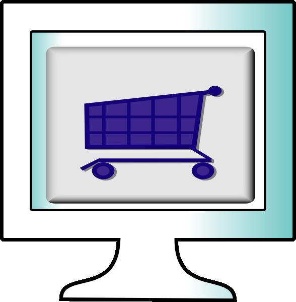 588x599 Online Clipart Online Shopping Clip Art